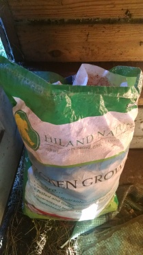 empty feed sacks